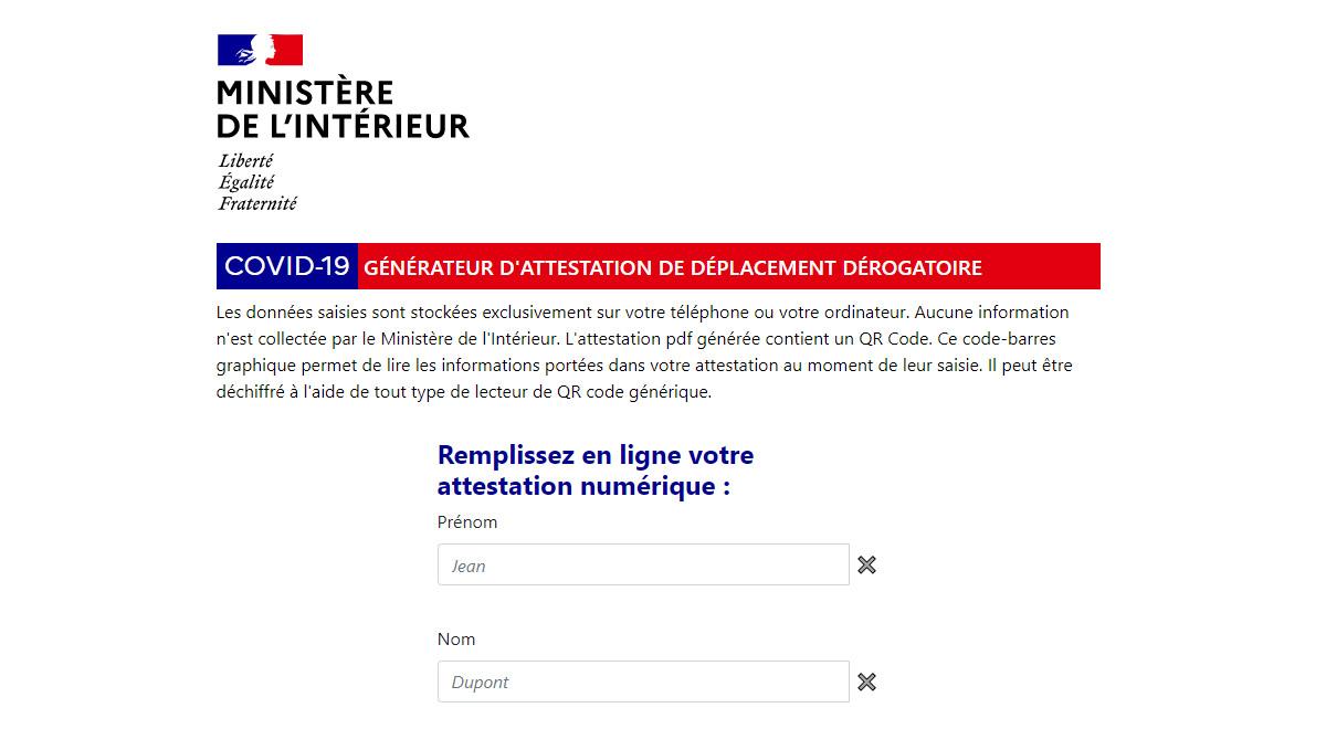 L Attestation De Deplacement Numerique Est Disponible Sur Smartphone Et Tablette Bdm