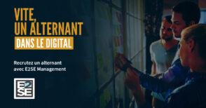 E2SE Management, partenaire des entreprises pour leur recherche d'alternants dans le digital