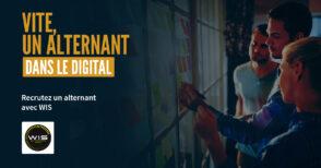 WIS : recrutez des alternants avec une double-compétence dans le digital