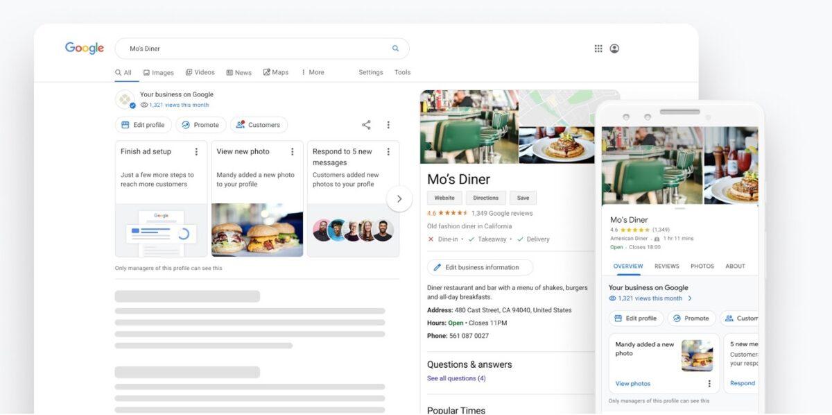 Google My Business : de nouveaux outils pour améliorer la présence des  entreprises en ligne - BDM