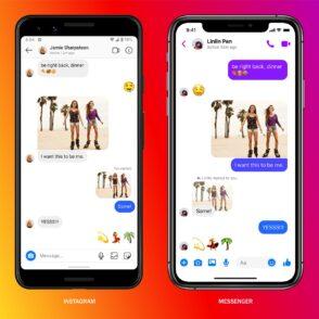 Instagram Direct et Messenger fusionnent et annoncent 10 nouvelles fonctionnalités
