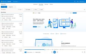 Microsoft lance Clarity : un outil gratuit pour analyser les visites sur son site web