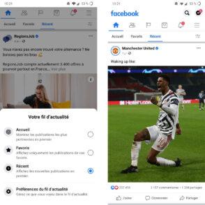 Facebook : le fil d'actualité dans l'ordre chronologique est de retour, pour le meilleur et pour le pire