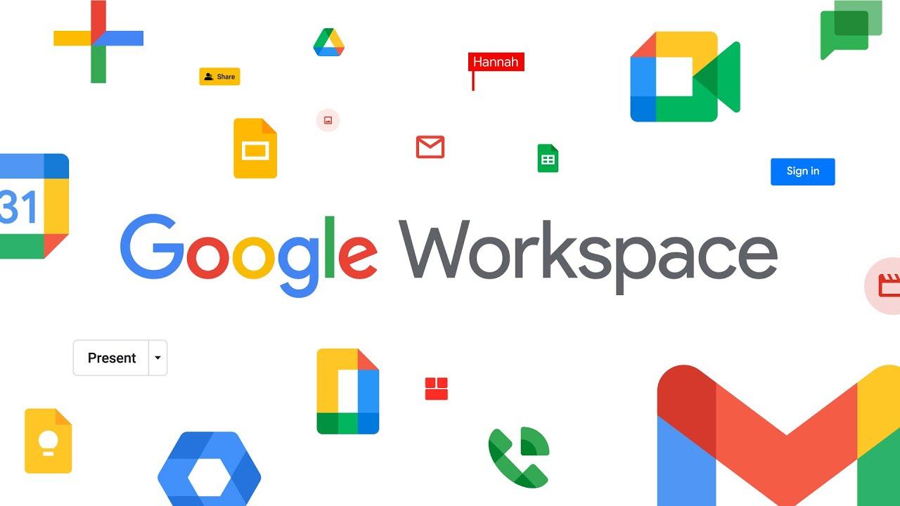 Google Workspace remplace G Suite et rassemble Gmail, Drive, Agenda, Docs,  Sheets, Meet... - BDM