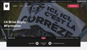 Comment la Fédération Française de Rugby aide les clubs amateurs à créer leur site web