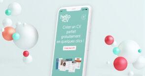 HelloCV : un outil pour créer un CV gratuitement
