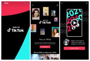 TikTok propose un flashback personnalisé de votre année en vidéo