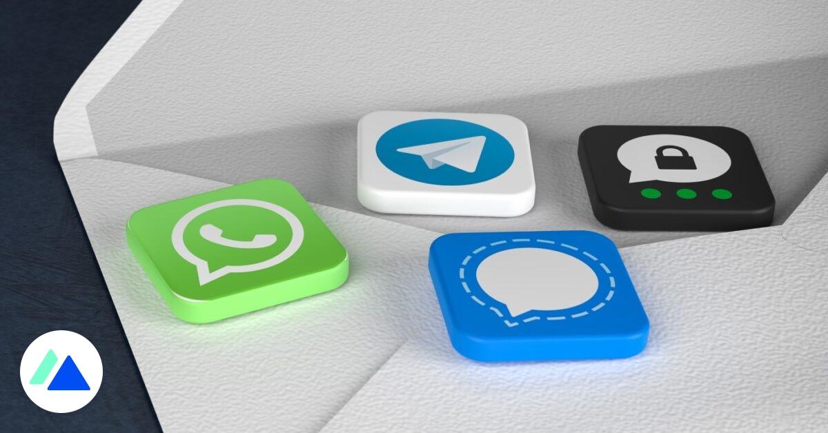 Messageries : les niveaux de sécurité de Signal, WhatsApp, Telegram, Olvid, Wire… - BDM