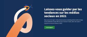 Réseaux sociaux : 5 tendances pour votre stratégie social media en 2021