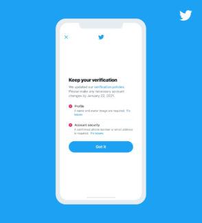 Twitter supprime la certification des comptes incomplets ou inactifs dès aujourd'hui