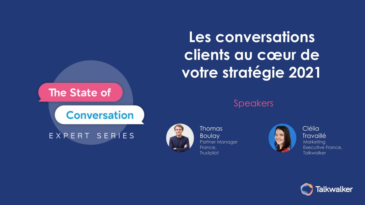 Webinar : comment intégrer les conversations clients dans sa stratégie marketing - BDM
