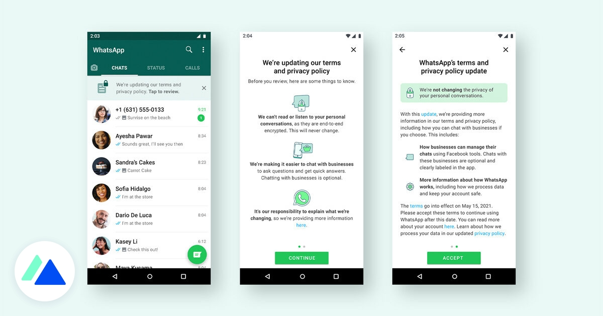 WhatsApp : la mise à jour controversée des conditions d'utilisation est de retour - BDM