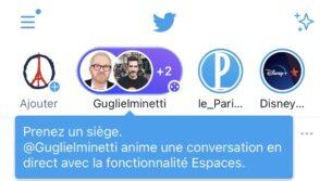 Twitter Spaces : la création de chat audio disponible pour tous en avril