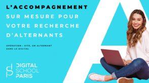 Recrutez des alternants grâce à l'accompagnement proposé par Digital School of Paris
