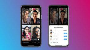 Instagram lance Live Rooms : jusqu'à 4 utilisateurs en direct en même temps