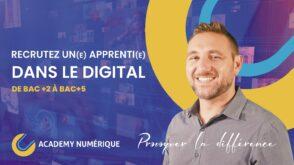 Trouvez des alternants pour accompagner votre transformation digitale avec l'Academy Numérique