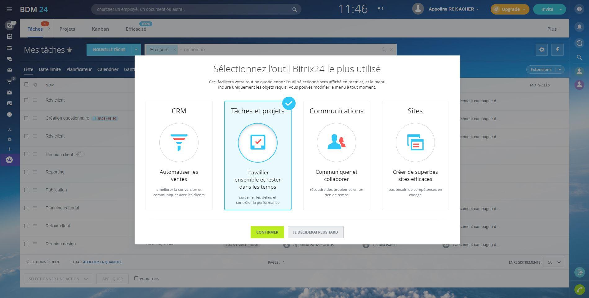 Bitrix24 : une plateforme gratuite et collaborative pour la gestion de projet - BDM