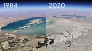 Google Earth : remontez le temps jusqu'en 1984 et visualisez l'évolution de la Terre