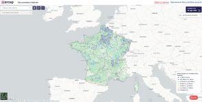 Testez la qualité de votre connexion Internet via la carte interactive de l'Arcep