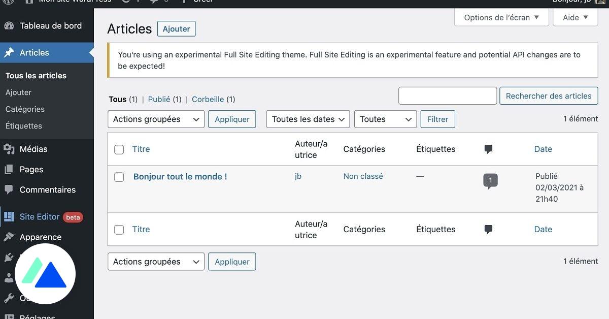 WordPress : tout savoir sur Full Site Editing, la prochaine évolution majeure du CMS - BDM