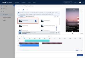 TikTok lance un nouvel éditeur vidéo entièrement dédié aux marques