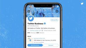 Twitter teste les profils professionnels