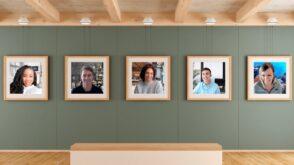 Zoom rassemble les participants d'une visio sur un même arrière-plan