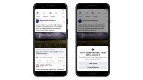 Facebook veut encourager à lire les articles avant de les partager