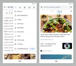 Google : vers un retour des flux RSS sur Chrome ?