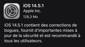 iPhone : la mise à jour 14.5.1 corrige une importante faille de sécurité