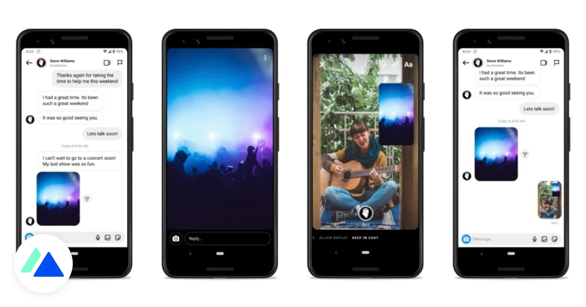 Facebook ajoute 5 nouveautés sur Messenger et Instagram Direct - BDM
