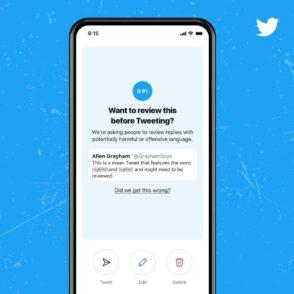 Twitter déploie une fonction d'avertissement pour les tweets offensifs