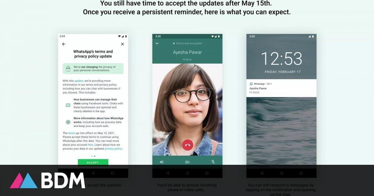 WhatsApp : ce qui va changer après la mise à jour du 15 mai - BDM
