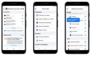 Groupes Facebook : de nouveaux outils de gestion et de modération