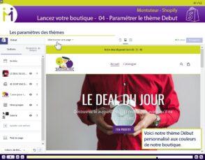Montuteur.fr lance une formation Shopify pour apprendre à créer son site e-commerce
