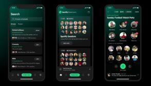Spotify lance Greenroom pour rivaliser à son tour avec Clubhouse