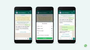 WhatsApp Business améliore son API pour faciliter le service client