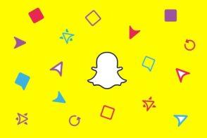Icônes Snapchat : carré, flèche, double-flèche, la signification des symboles