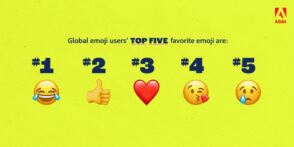 Étude : les emojis les plus populaires en 2021