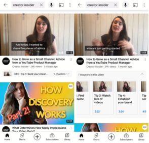 YouTube améliore la recherche avec les listes de chapitres et la traduction automatique