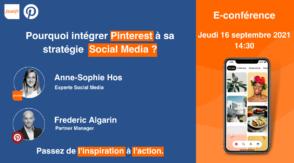 Webinar : pourquoi intégrer Pinterest à sa stratégie social media ?