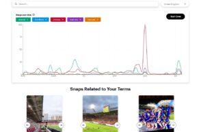 Snapchat Trends : un outil pour rechercher et analyser les sujets tendances