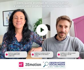 L'usage de la vidéo dans la communication publique : participez à l'enquête !