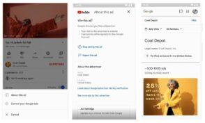 Google va dévoiler l'historique publicitaire des annonceurs