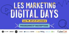 Les Marketing Digital Days : 3 jours de webinars sur le SEO, SEA, e-commerce, social media…