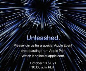Keynote d'Apple le 18 octobre : les nouveautés attendues
